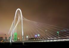Dallas_Bridge_wide stock afbeelding