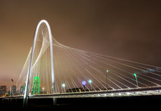 Dallas_Bridge_wide Stock Image