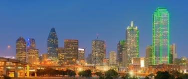 Dallas City del centro, il Texas, U.S.A. Fotografia Stock