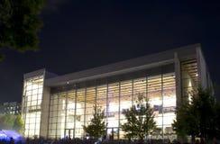 Dallas city performance hall Stock Photography
