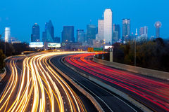 Dallas City Skyline Stock Photos