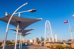 Dallas City skyline at twilight Stock Photos