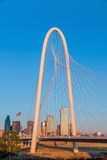 Dallas City skyline at twilight Royalty Free Stock Photo