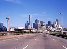 Dallas city skyline. Stock Photos