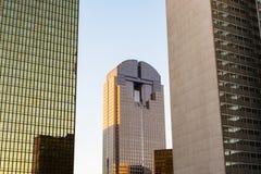 Dallas cityscape royaltyfri fotografi