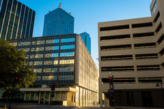Dallas cityscape royaltyfri bild