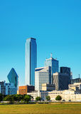 Dallas cityscape in the morning Royalty Free Stock Photography