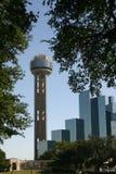 Dallas céntrica Imagen de archivo libre de regalías