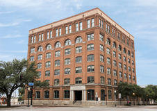 Dallas County Administration Building, 6th Floor Museum. Pictured is the Texas School Book Depository, now known as the Dallas County Administration Building. It stock photos