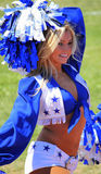 Dallas Cowboy Cheerleader Royalty-vrije Stock Foto's