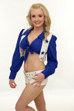 Dallas Cowboy Cheerleader Stockfoto