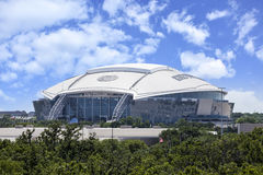 Dallas Cowboy Stadium Arkivfoto