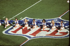 Dallas Cowboys Cheerleaders Images libres de droits