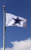 Dallas Cowboys Flag Stock Photo