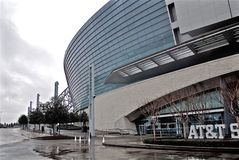 Dallas Cowboys Football Stadium Entrance Royaltyfria Foton
