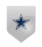 Dallas cowboys team. Dallas cowboys nfl team on white Stock Photography