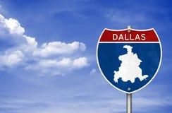Dallas dans le Texas photo stock
