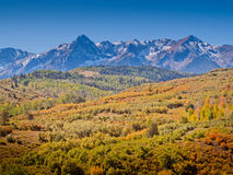Dallas Divide in Autumn Royalty Free Stock Photos