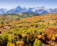Dallas Divide in Autumn Royalty Free Stock Photography