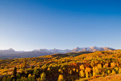 Dallas Divide in Autumn Royalty Free Stock Image