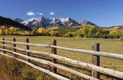 Dallas Divide, floresta nacional de Uncompahgre, Colorado Fotografia de Stock
