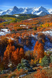 Dallas Divide. Scenic landscape of Dallas divide in autumn time royalty free stock images