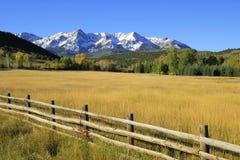 Dallas Divide Uncompahgre nationalskog, Colorado royaltyfria bilder