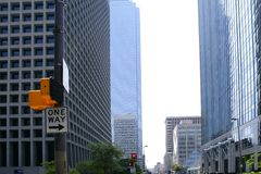Dallas downtown city urban bulidings view Royalty Free Stock Images