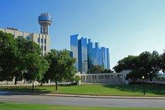 Dallas du centre Photographie stock