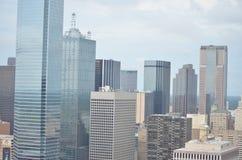 Dallas du centre photographie stock libre de droits