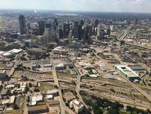 Dallas du centre du ciel photo stock
