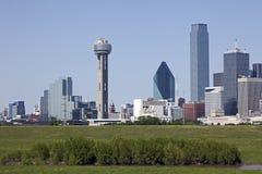 Dallas du centre, le Texas Image libre de droits
