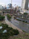 Dallas en la lluvia imagen de archivo libre de regalías