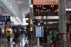 Dallas-fort en valeur l'aéroport international (DFW) dans le Texas photos libres de droits
