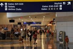 Dallas-fort en valeur l'aéroport international (DFW) dans le Texas image stock