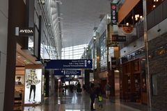 Dallas-Fort Worth International Airport (DFW) in Texas Royalty Free Stock Image