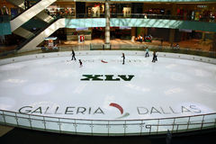 Dallas Galleria Super Bowl XLV Stock Image