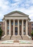 Dallas Hall en el campus de la universidad de methodist meridional fotografía de archivo libre de regalías