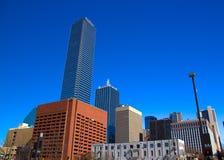Dallas i stadens centrum skyskrapor Arkivfoto