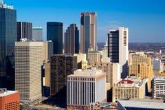 Dallas i stadens centrum skyskrapor Arkivfoton