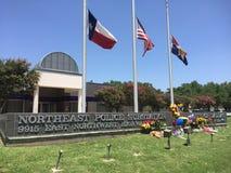 Dallas komenda policji, Lipiec 8, 2016 zdjęcie stock