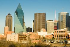 Dallas le Texas Photographie stock