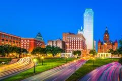 Dallas, le Texas, Etats-Unis image libre de droits