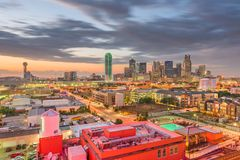 Dallas, le Texas, Etats-Unis image stock