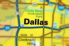 Dallas, le Texas - U S photo libre de droits