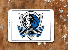 Dallas Mavericks american basketball team logo Stock Photos