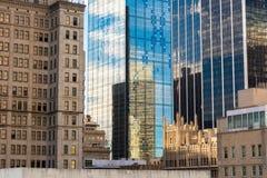 Dallas Modern e 2 storici Fotografia Stock