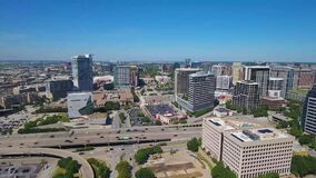 Dallas, Drone Flying, Downtown, Texas, Amazing Landscape