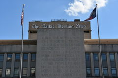 The Dallas Morning News building in Texas Royalty Free Stock Photography