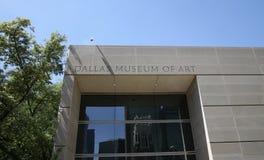 Dallas Museum of Art Building Stock Image